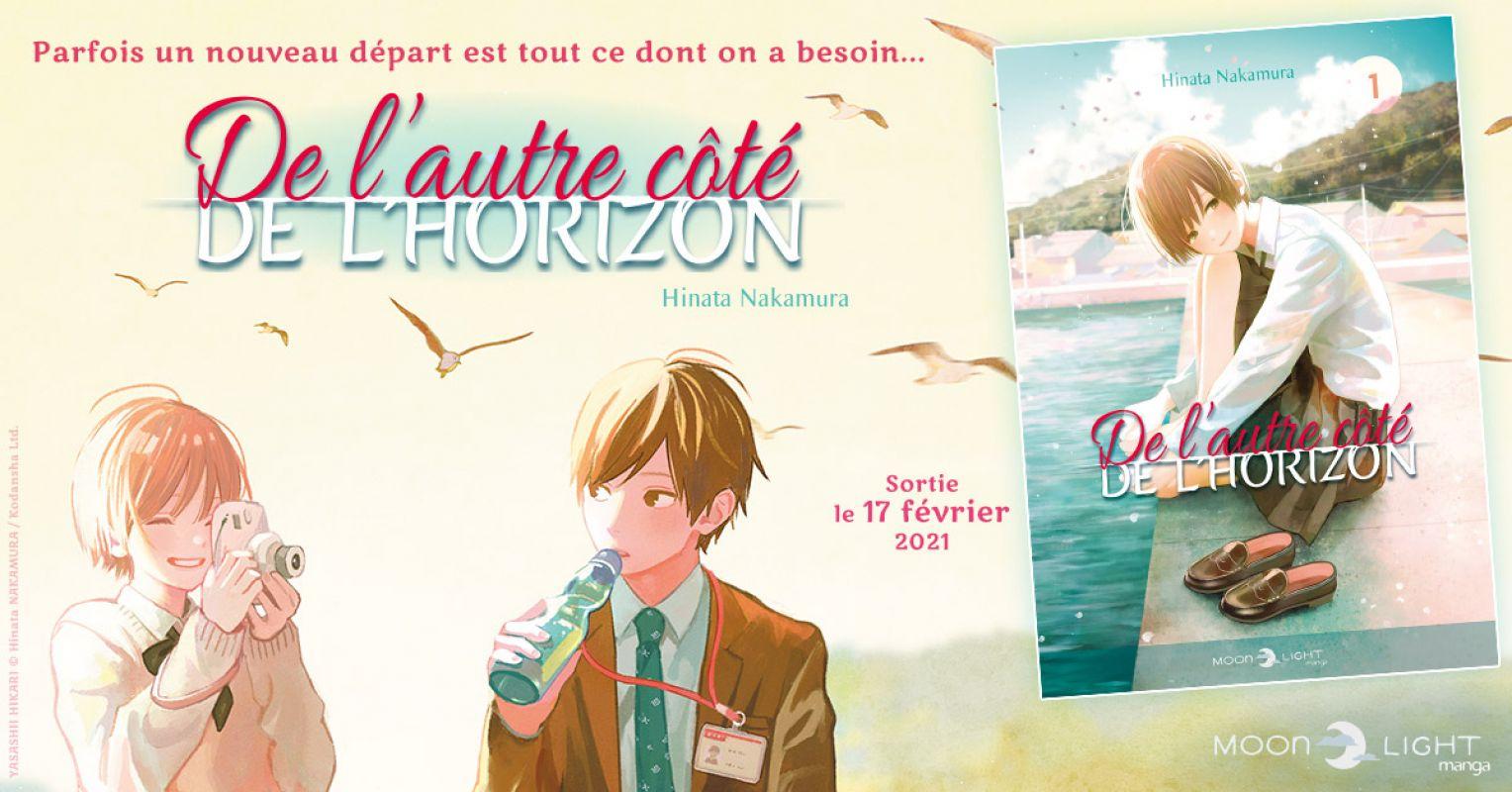 De L'Autre Côté de l'Horizon chez Delcourt/Tonkam