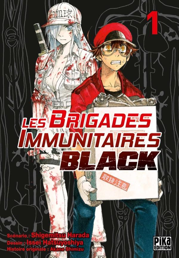 Le manga Les Brigades Immunitaires Black se termine au Japon !