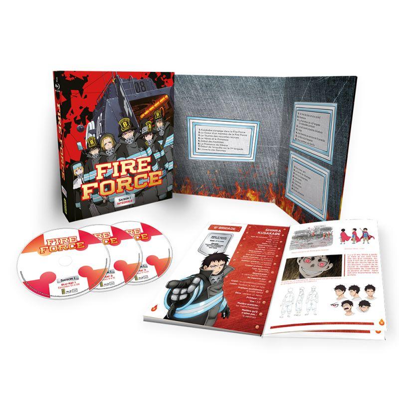 La saison 1 de l'animé Fire Force débarque en blu-ray et DVD en 2021 chez Kana !