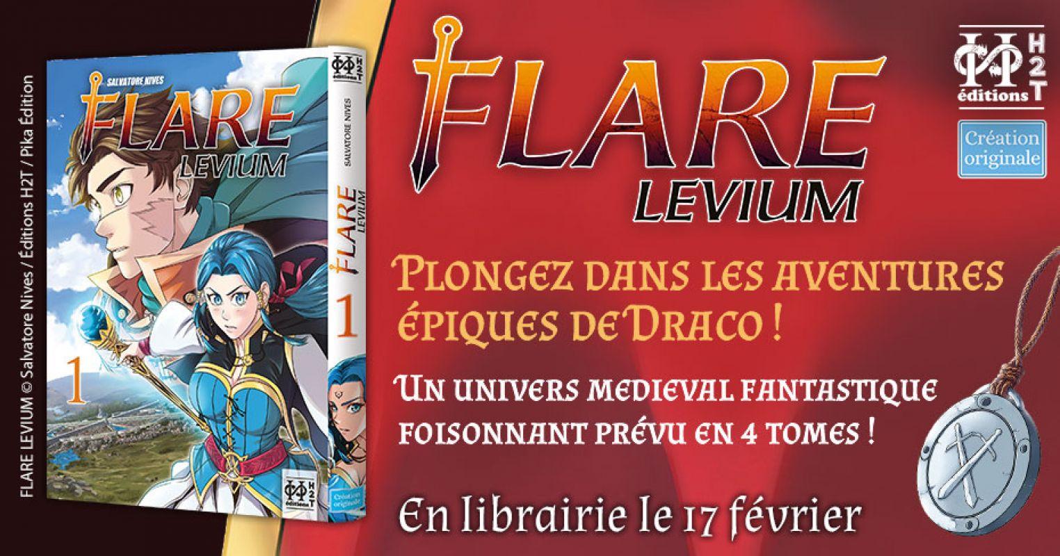 Flare Levium chez H2T
