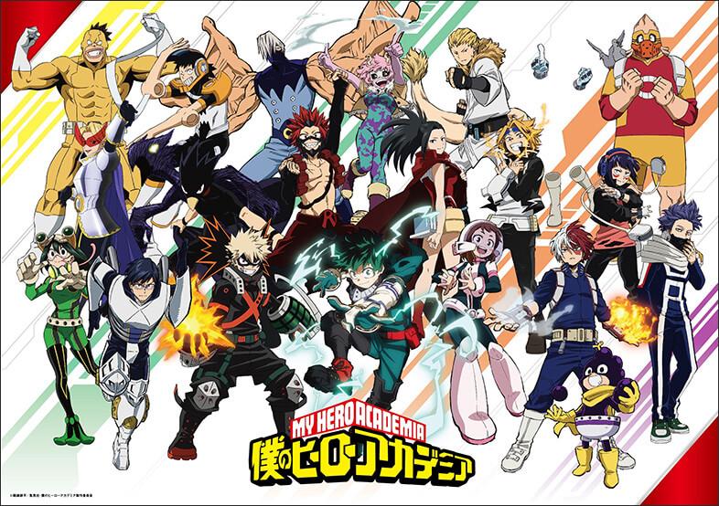 Un nouveau teaser pour la saison 5 de l'animé My Hero Academia !
