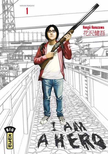 Kana arrête la commercialisation du manga I Am A Hero en 2021 !