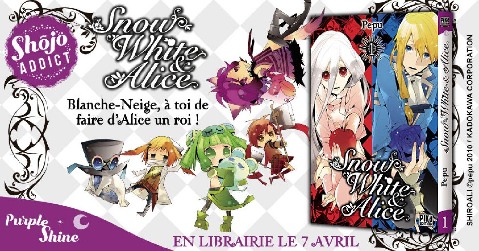 Découvrez les premières pages de Snow White & Alice en ligne !