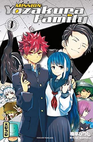 Découvrez les premières pages de Mission : Yozakura Family en ligne !