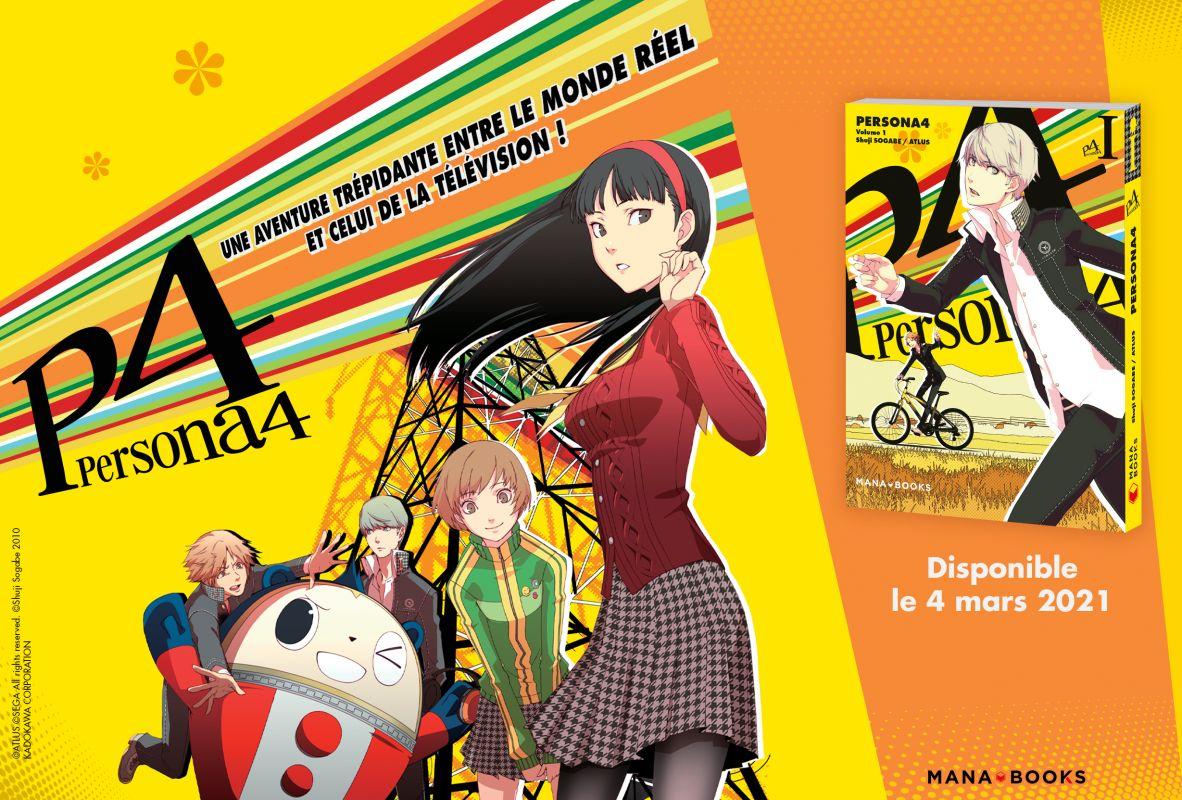 Persona 4 chez Mana Books