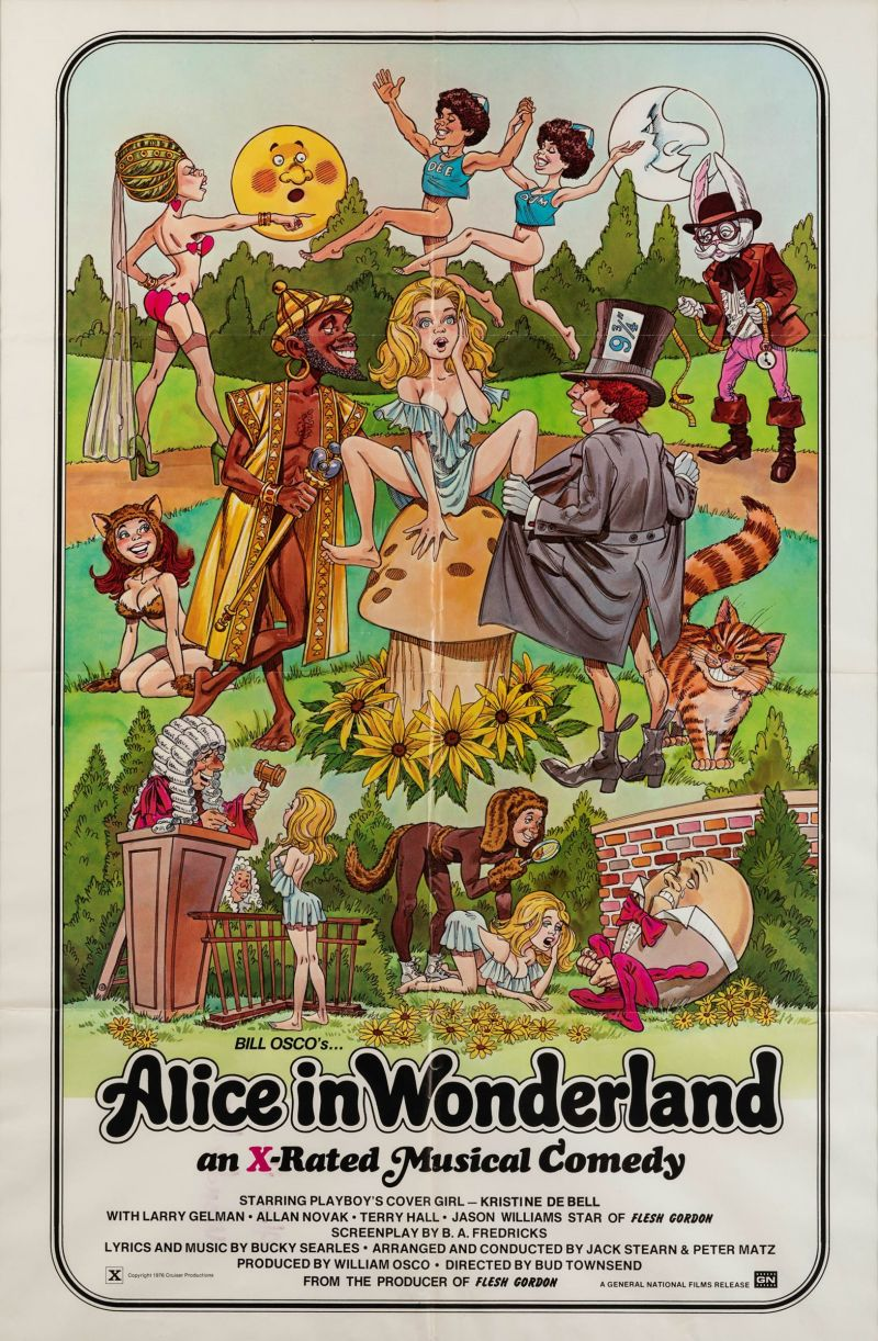 Retour vers le passé :  Alice in Wonderland - An X-Rated Musical Fantasy (1979)