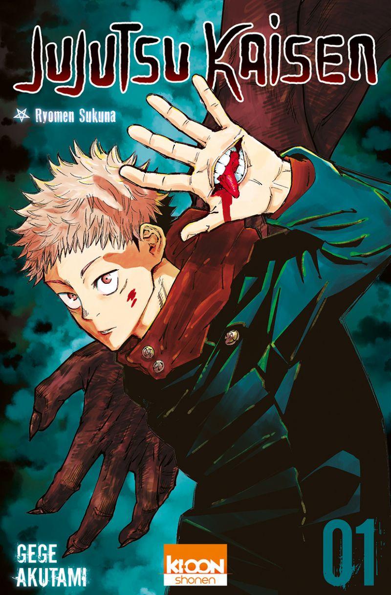 Les ventes du manga Jujutsu Kaisen explosent au Japon grâce à son animé !