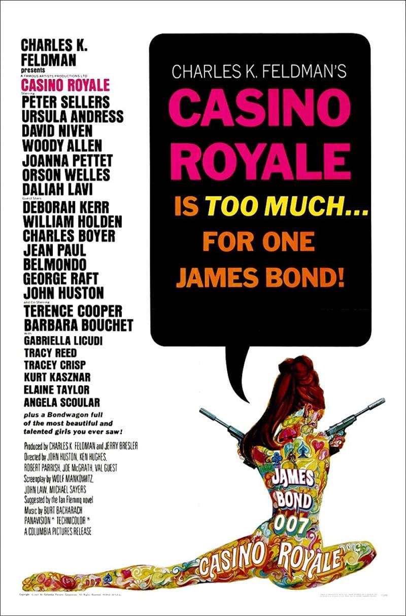 Retour vers le passé :  Casino Royale (1967)