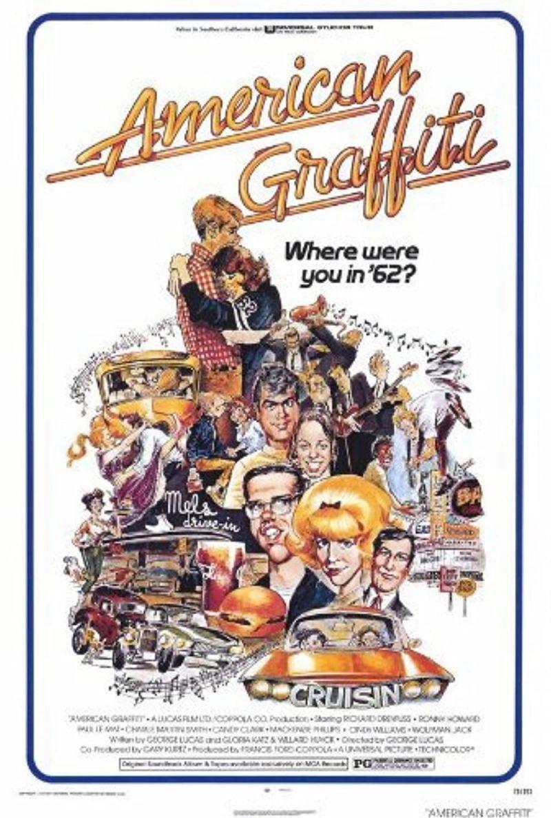 Retour vers le passé :  American Graffiti (1973)