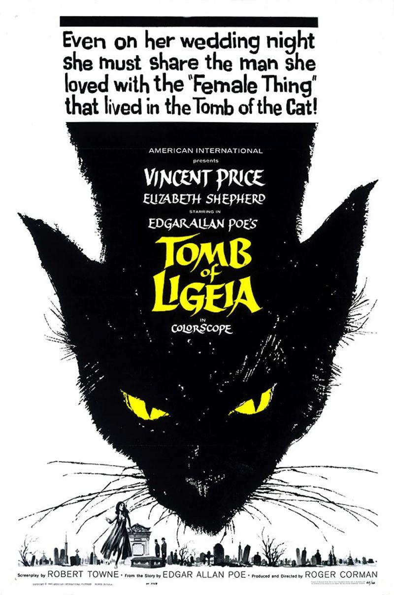 Retour vers le passé :  La Tombe de Ligeia (1964)