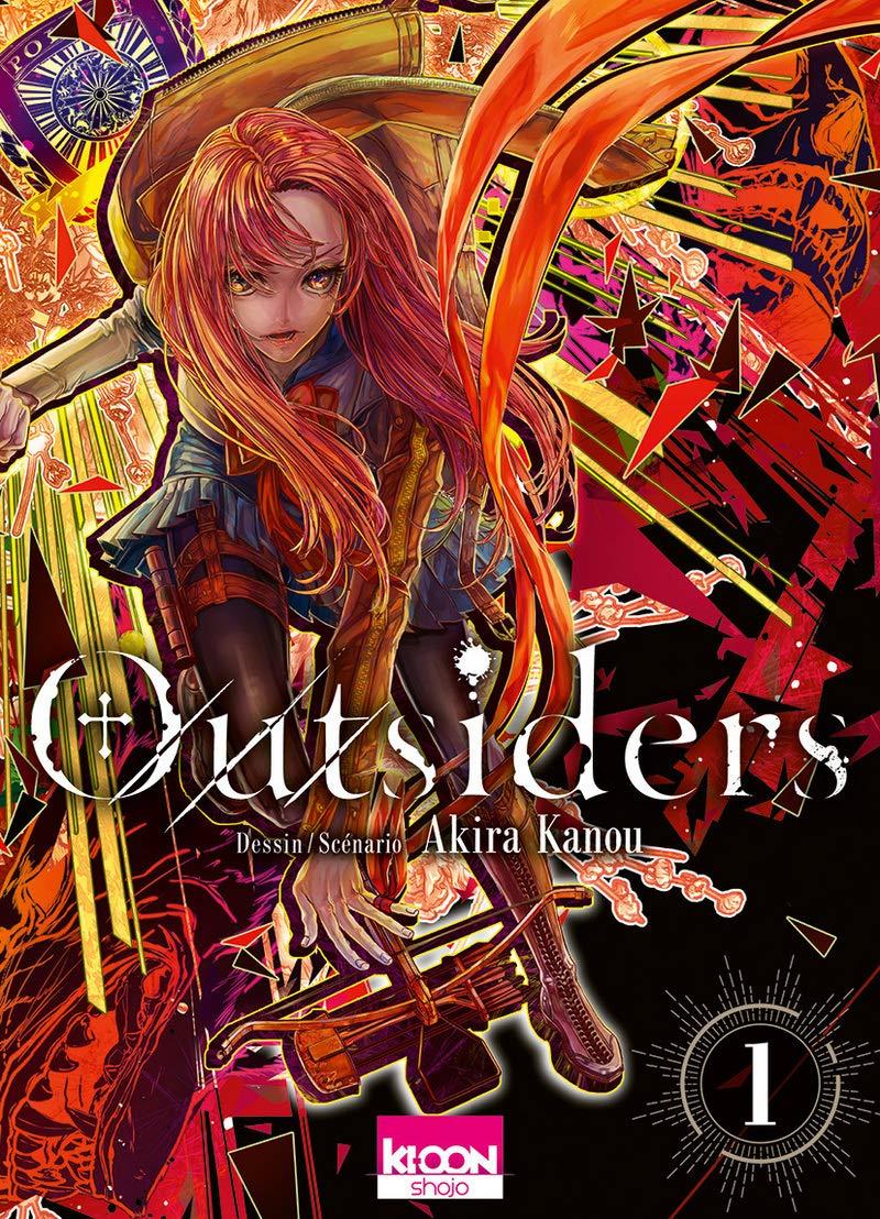 Découvrez les premières pages de Outsiders en ligne !