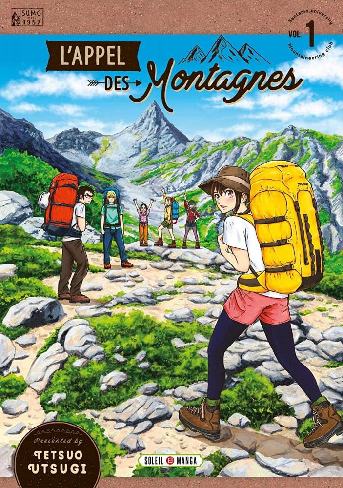 L'Appel des Montagnes chez Soleil Manga