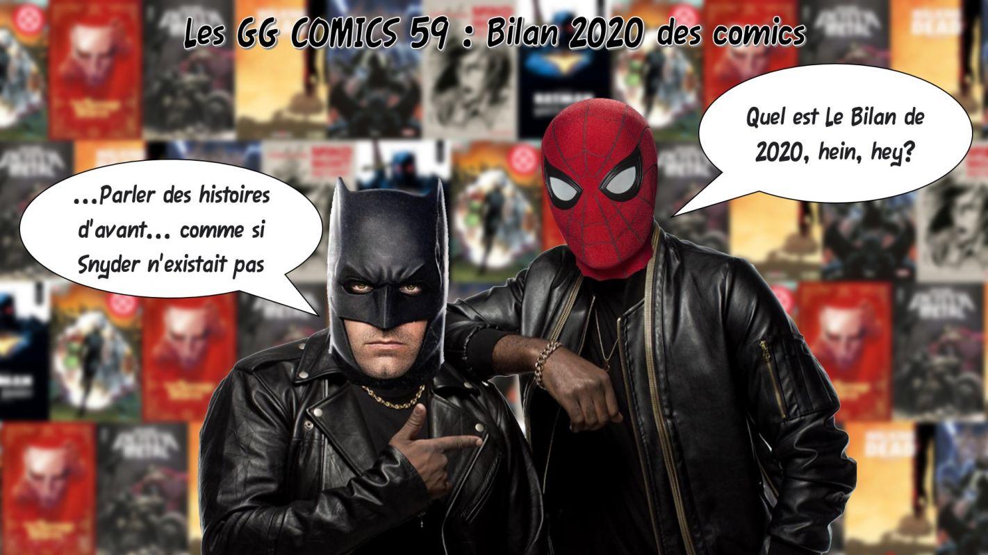 Les GG comics #059 : Bilan comics 2020