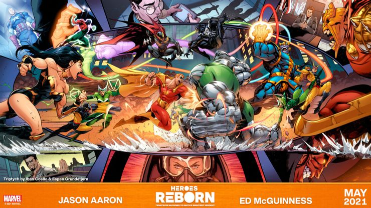 Actu V.O. : Heroes Reborn