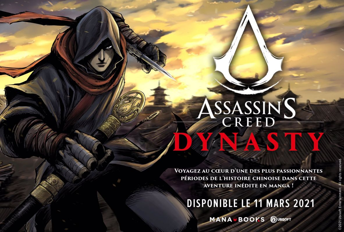 Assassin's Creed Dynasty chez Mana Books
