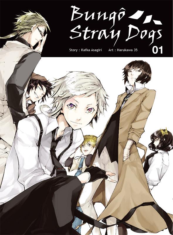 Un nouveau roman pour le manga Bungo Stray Dogs !