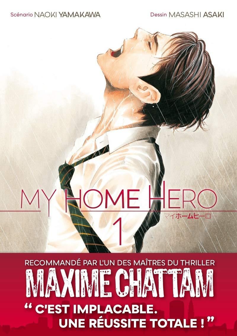 Le manga My Home Hero approche de sa fin au Japon !