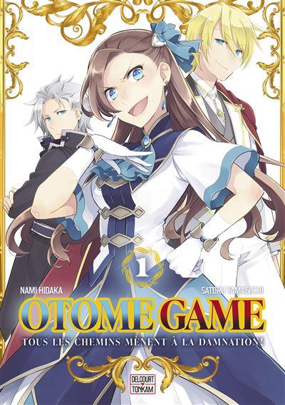 Otome Game chez Delcourt/Tonkam