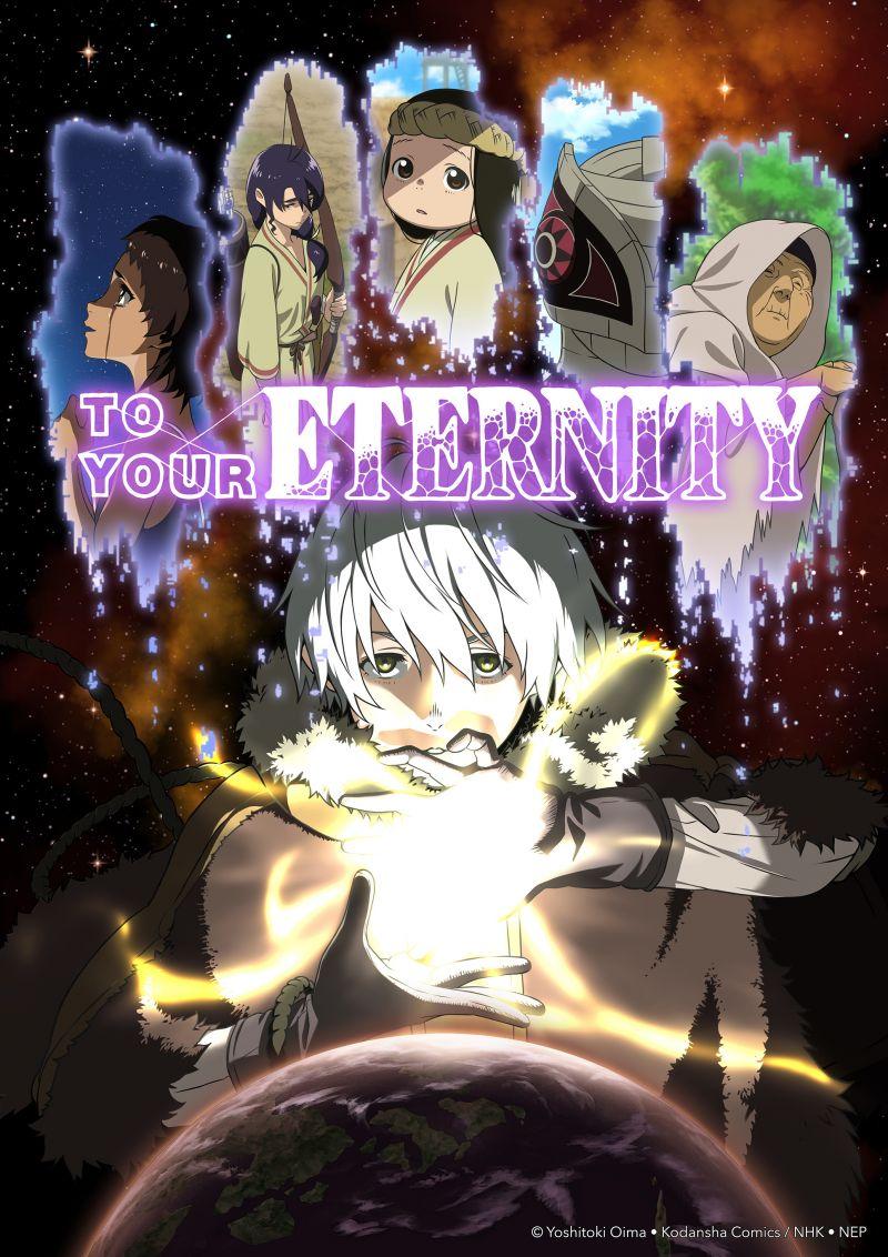 Des infos sur l'animé To Your Eternity !