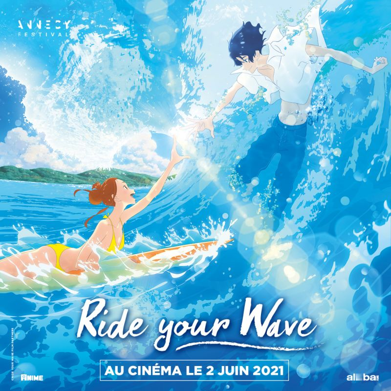 Le film d'animation Ride Your Wave au cinéma en France cet été !