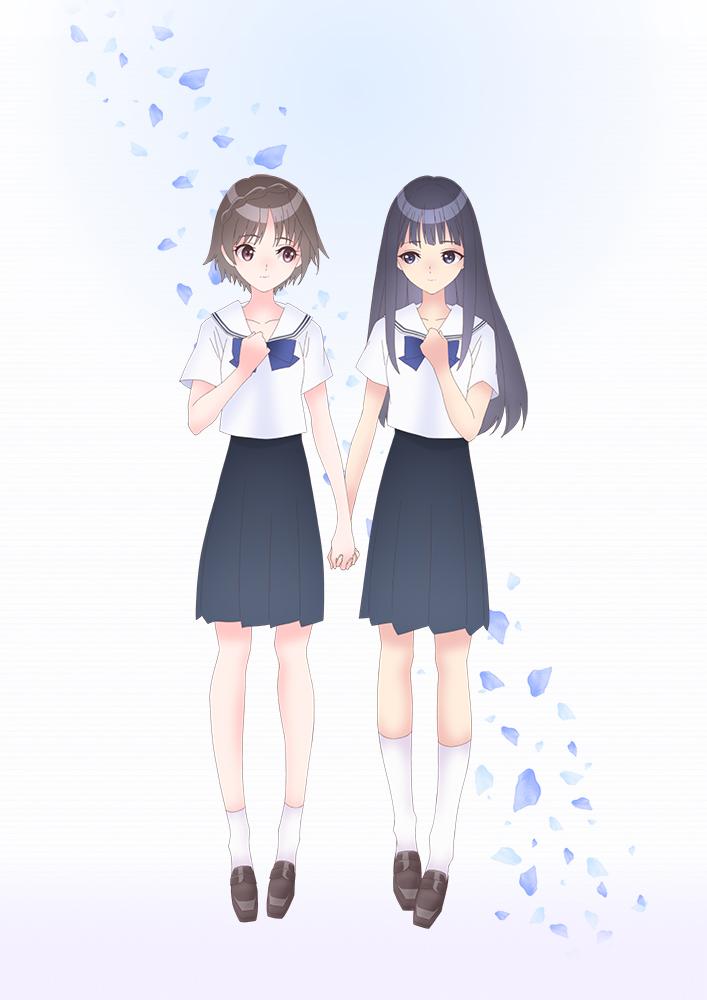 Le jeu vidéo Blue Reflection adapté en animé !