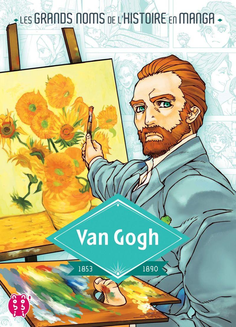 Découvrez les premières pages de Van Gogh et Jeanne d'Arc en ligne !