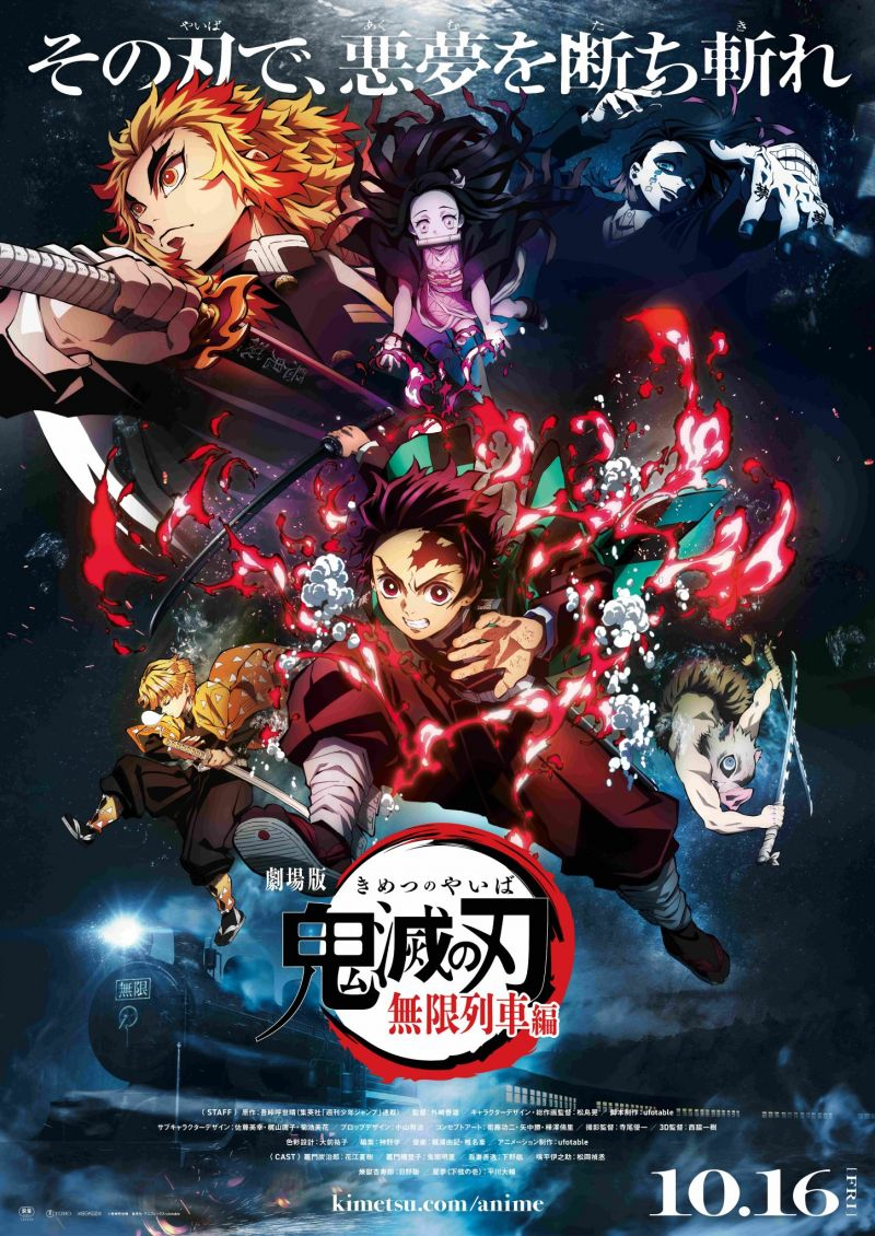 Demon Slayer : Le Train de l'Infini devient le plus gros succès d'un film japonais au box-office mondial !