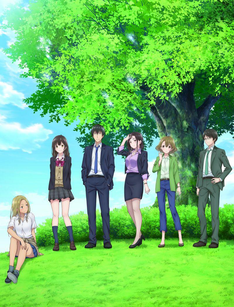 Un nouveau trailer pour l'animé Hige o Soru. Soshite Joshi Kosei o Hirou !
