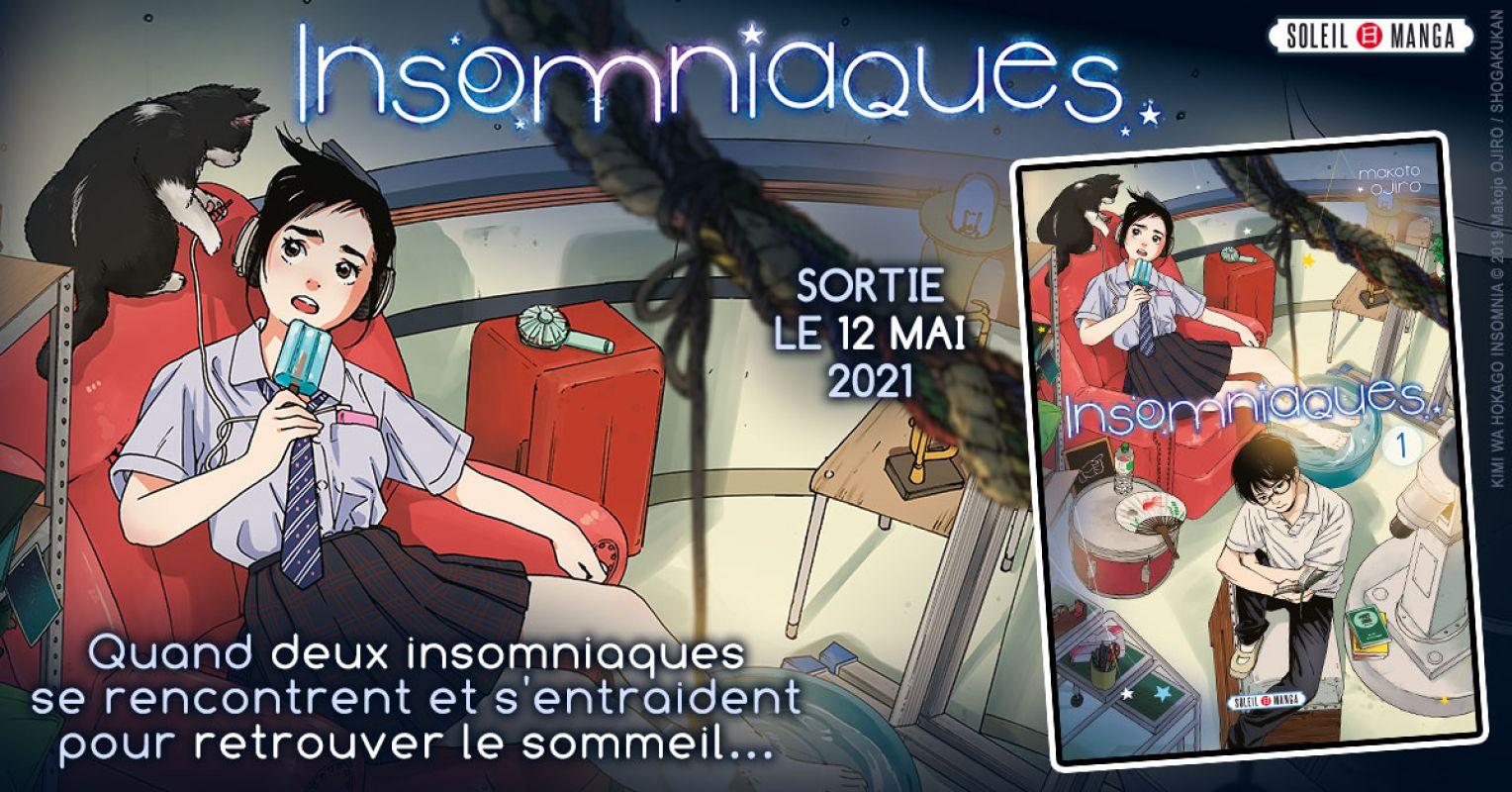 Insomniaques chez Soleil Manga