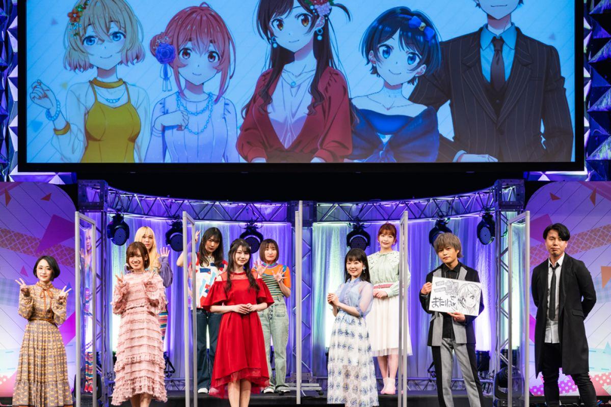 La saison 2 de l'animé Rent-A-Girlfriend prévu pour 2022 !