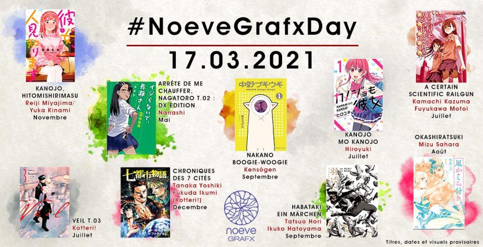 Découvrez les annonces du deuxième Noeve Grafx Day !