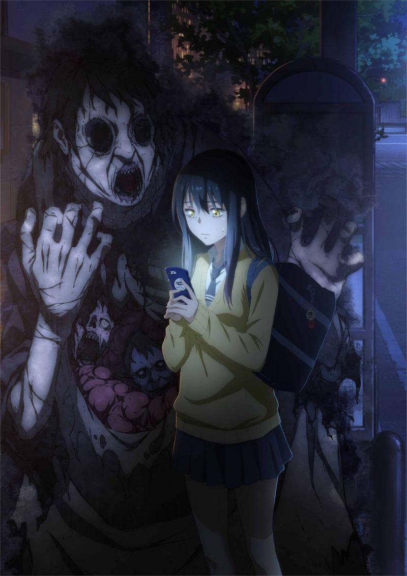 Le manga Mieruko-chan : Slice of Horror adapté en animé !