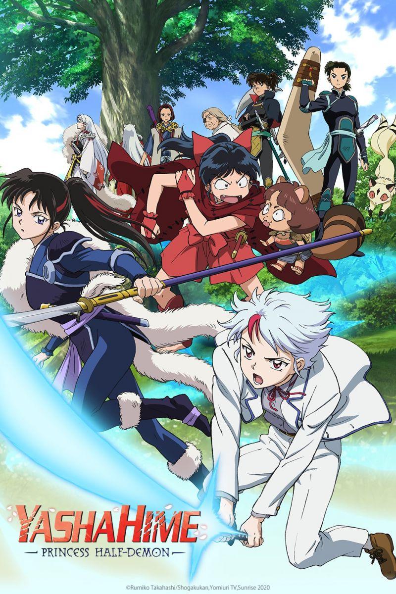 Une deuxième saison annoncée pour l'animé Yashahime : Princess Half-Demon !