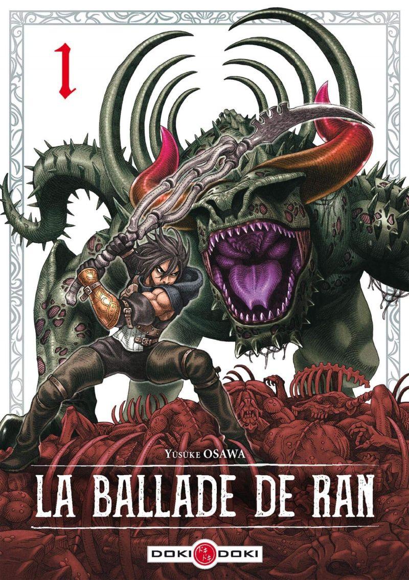 Découvrez les premières pages de La Ballade de Ran !