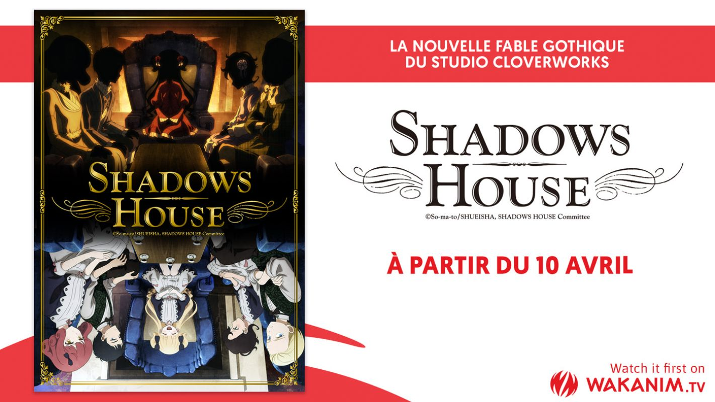 L'animé Shadows House en simulcast ce printemps sur Wakanim !