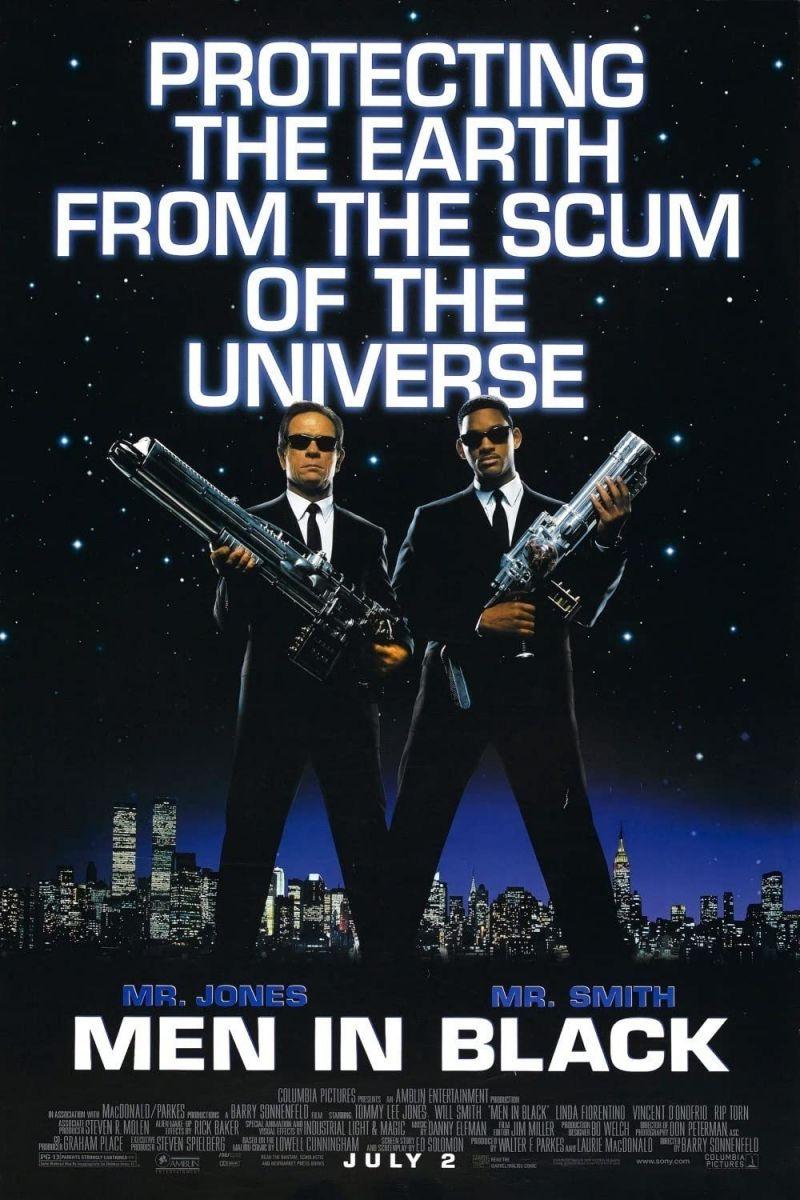 Retour vers le passé :  Men in Black (1997)