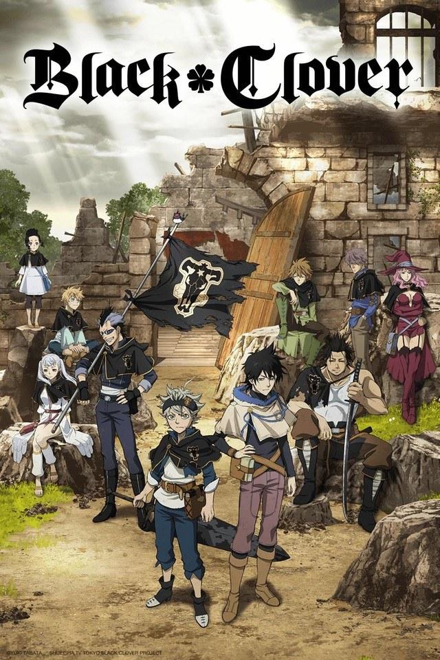 Un film d'animation annoncé pour le manga Black Clover !
