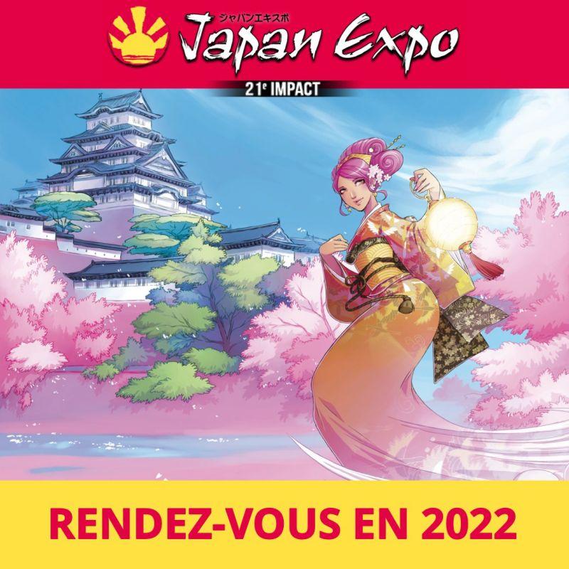 Le 21ème impact de Japan Expo Paris est reportée a l'été 2022