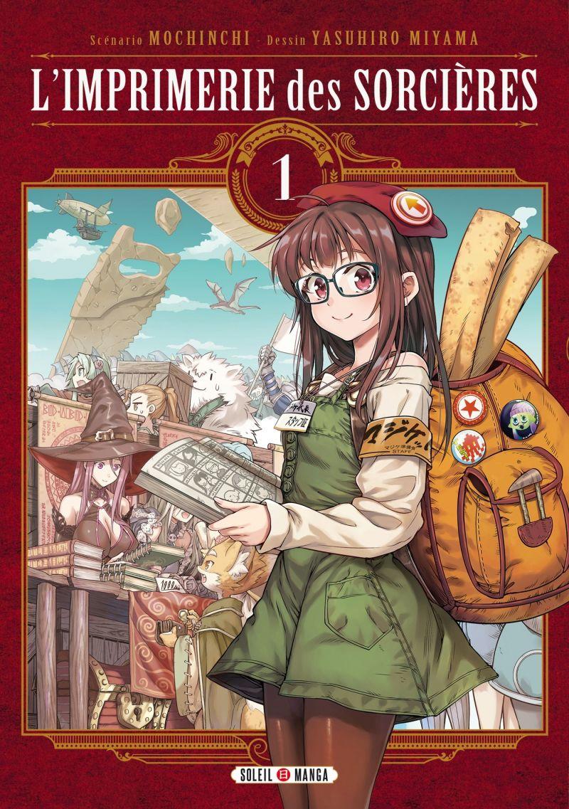 Le manga L'Imprimerie des Sorcières se termine au Japon !