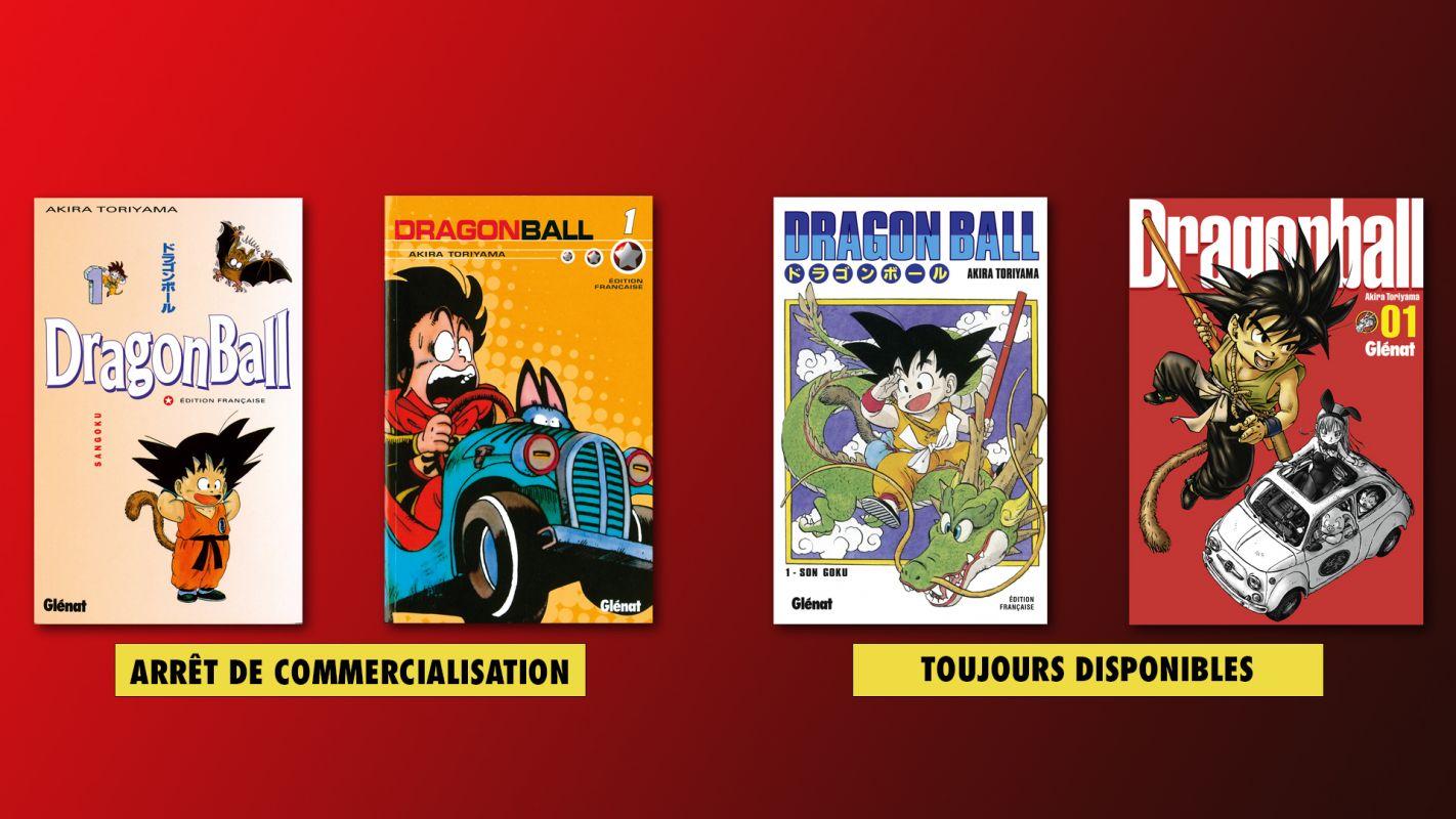 Glénat arrête la commercialisation de deux éditions de Dragon Ball