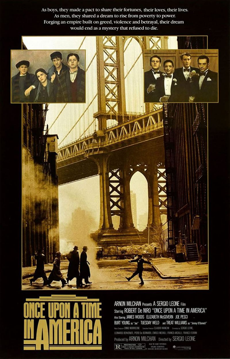 Retour vers le passé :  Il était une fois en Amérique (1984)