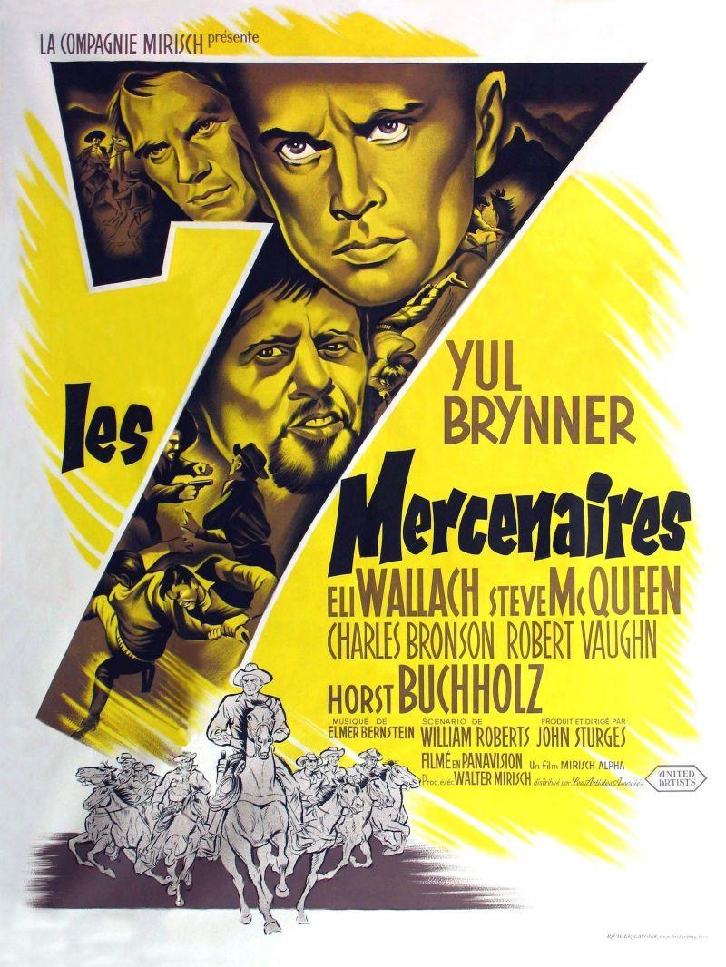 Retour vers le passé :  Les 7 Mercenaires (1960)