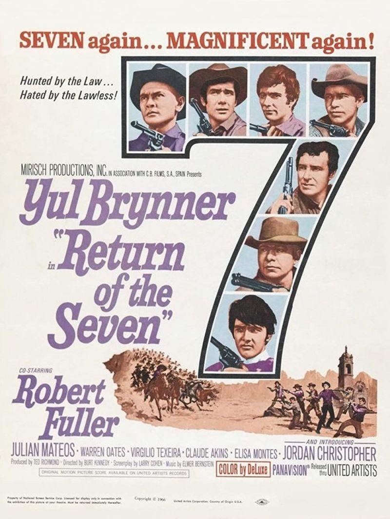 Retour vers le passé :  Le Retour des Sept (1966)
