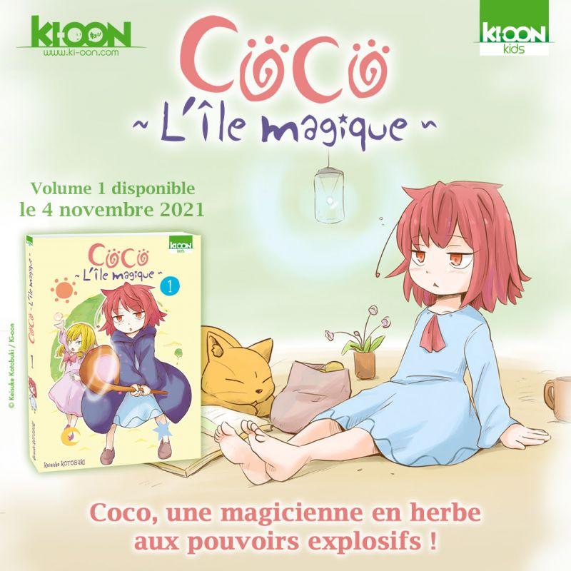 Coco - L'Île magique chez Ki-oon