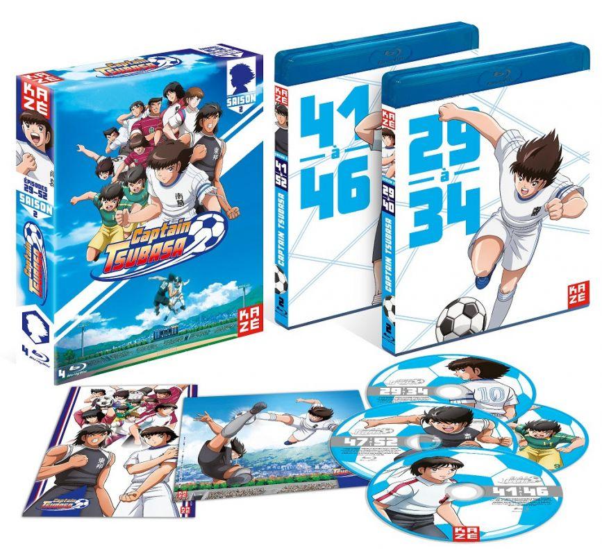 La seconde partie de Captain Tsubasa sera pour juin en DVD et Blu-ray