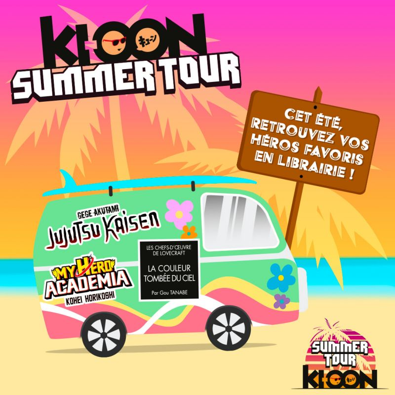 Ki-oon summer tour : les dates
