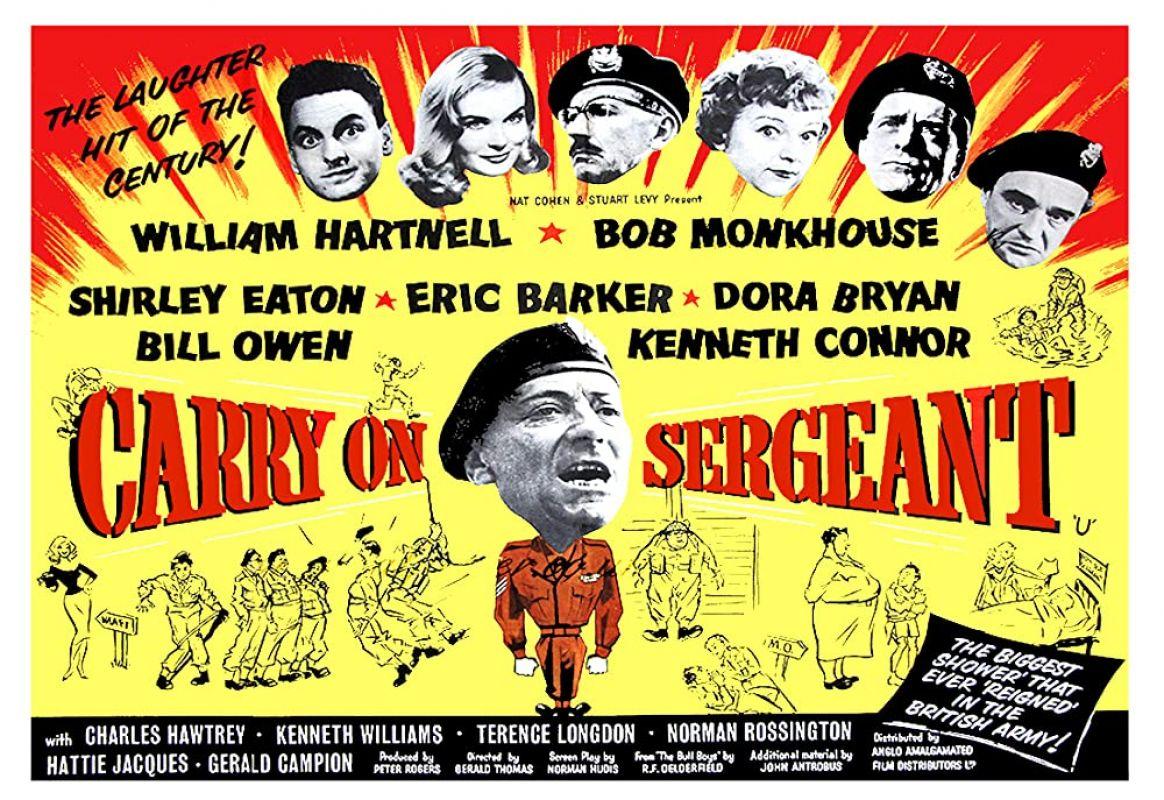 Retour vers le passé :  Carry on Sergeant (1958)