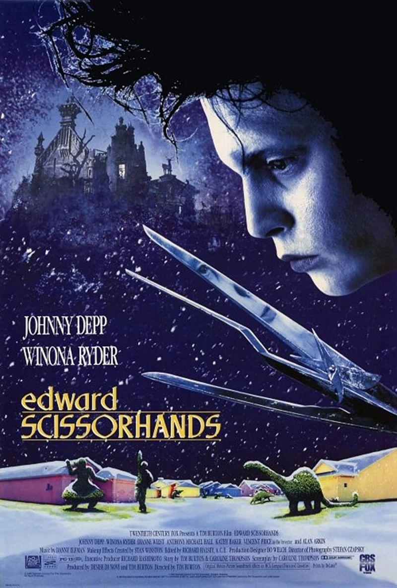 Retour vers le passé :  Edward aux mains d'argent (1990)