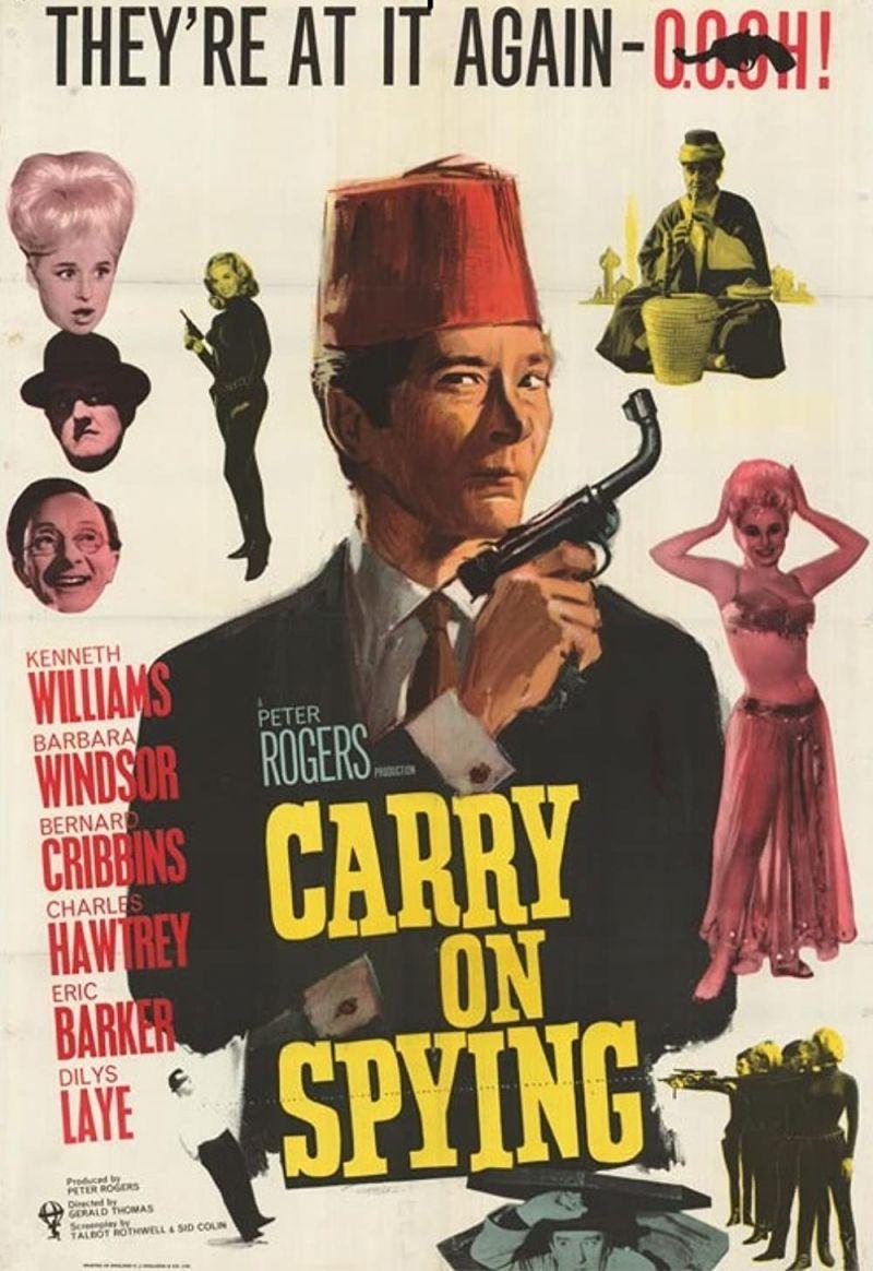 Retour vers le passé :  Agent secret 00.OH ! contre Dr Crow (1964)