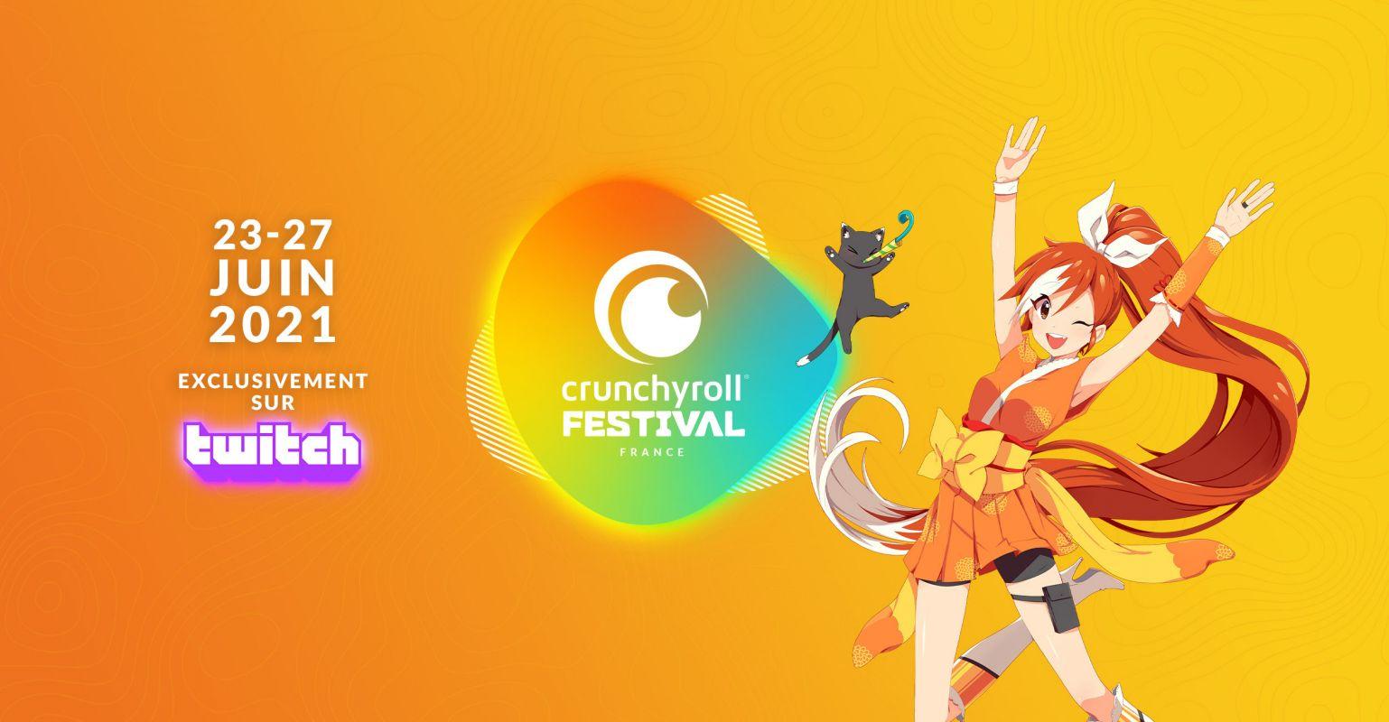 Le Crunchyroll festival démarre bientôt